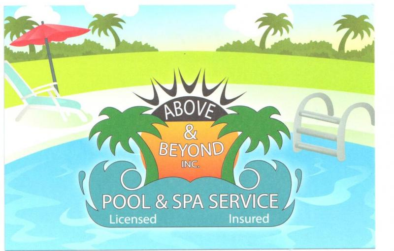 Aboveand beyond pool and spa servives inc home for Above beyond salon